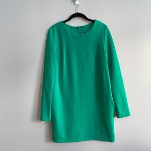 ASOS Kelly Green Button Back Dress